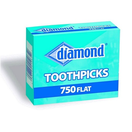 Diamond 41265 Toothpicks 750 Count