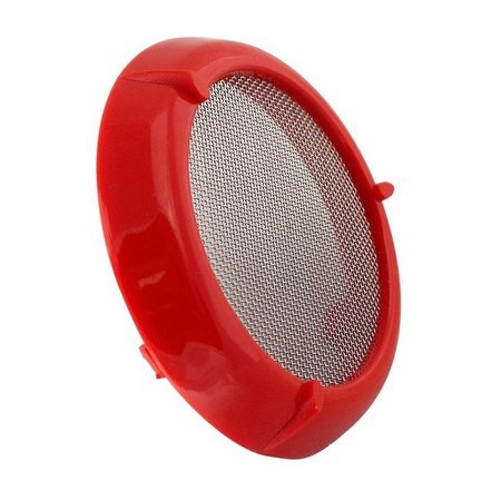 Elchim Hairdryer Filter for 2001 Dryers, Red Fine Mesh