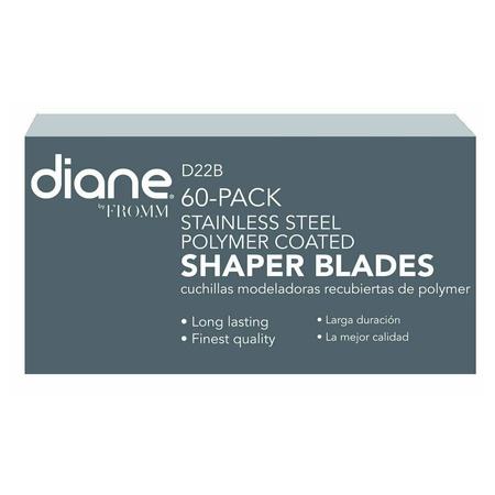 Diane D22B Polymer Coated Shaper Blades 60 Pack