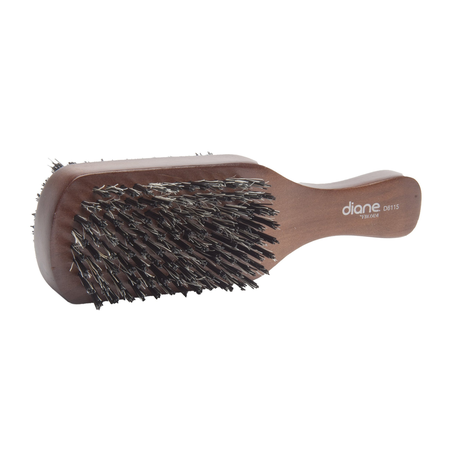 Diane D8115 Medium Firm 100% Boar Bristle Club Brush