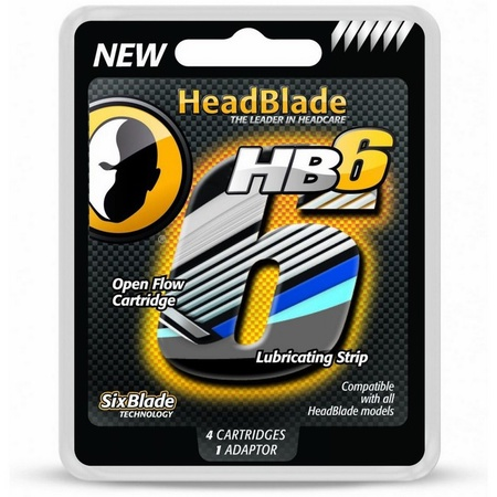 HeadBlade HB6 Six Blade Replacement Kit