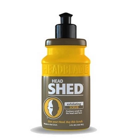 HeadBlade HeadShed Exfoliator, 5 Ounce Bottle