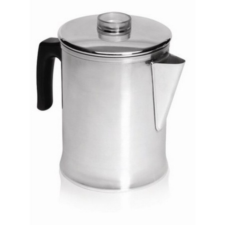IMUSA GAU-00745 Aluminum Coffee Percolator 6 Cup