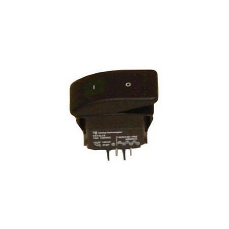 Jiffy Steamer 1125 Green Lighted Rocker Switch