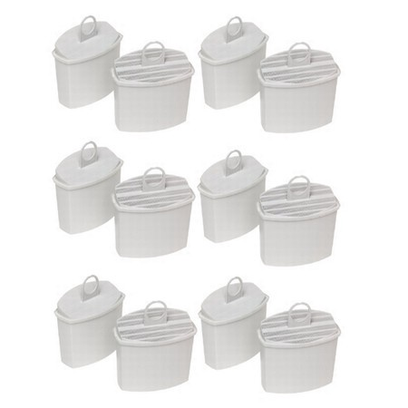 KWF2 Coffee Maker Water Filter Cartridges for Braun, 12 Pack