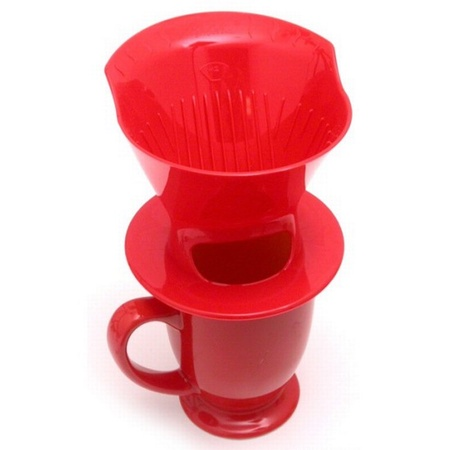 Melitta 64012 Ready Set Joe Coffeemaker, Assorted Colors