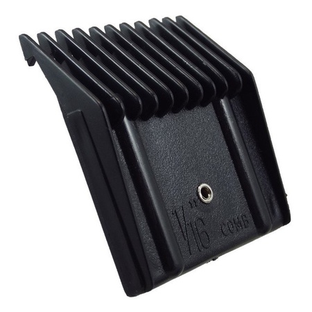 """Miaco 1/16"""" #1/2 Universal Clipper Guide Comb fits Oster Classic 76, A5, Andis AG, BG, etc."""