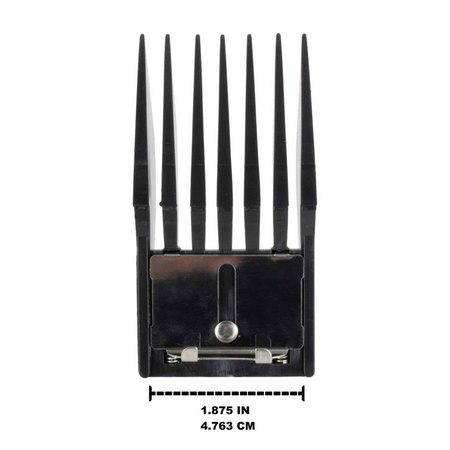 """Miaco 1/8"""" #1 Universal Clipper Guide Comb fits Oster Classic 76, A5, Andis AG, BG, Wahl, etc."""