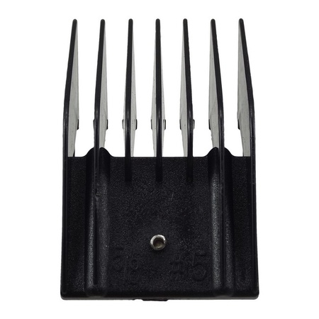 """Miaco 5/8"""" #5 Universal Clipper Guide Comb fits Oster Classic 76, A5, Andis AG, BG, Wahl, etc."""