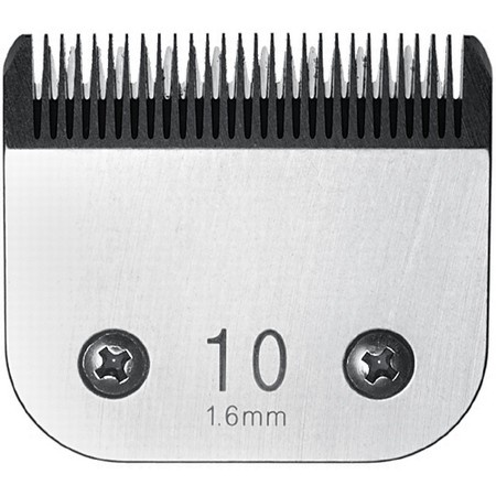Miaco Size 10 Detachable Animal Clipper Blade fits Andis AG, AGC and Oster A5
