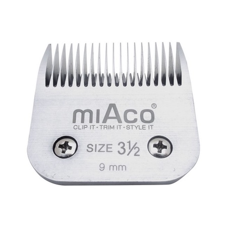Miaco Size 3.5 Detachable Clipper Blade fits Oster Classic 76, Andis BGC, BGR, BGRC, MBG