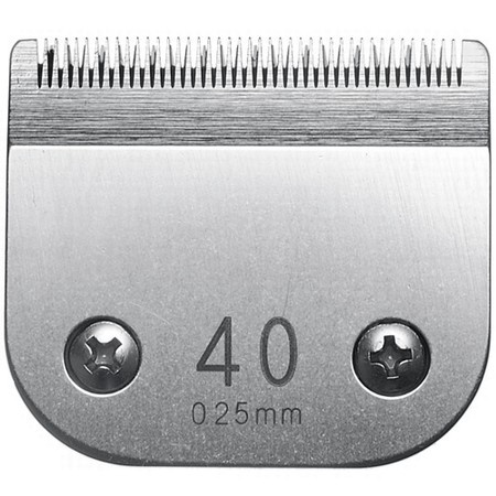 Miaco Size 40 Detachable Animal Clipper Blade fits Andis AG, AGC and Oster A5