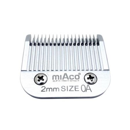 Miaco Size OA Detachable Clipper Blade fits Oster Classic 76, Andis BGC, BGR, BGRC, MBG