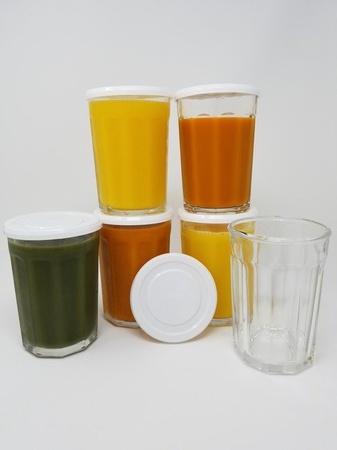 Mian White Plastic Lids fits Luminarc Working Glass 6 Pack
