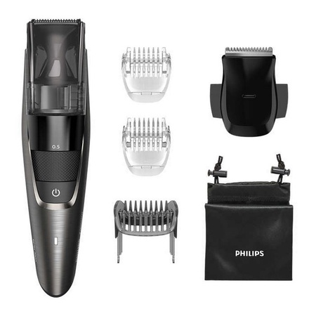 Norelco BT7515/49 BeardTrimmer 7500 Series Vacuum Beard and Stubble Trimmer