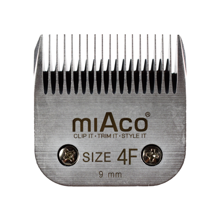 Miaco Size 4F Detachable Animal Clipper Blade fits Andis AG, AGC and Oster A5