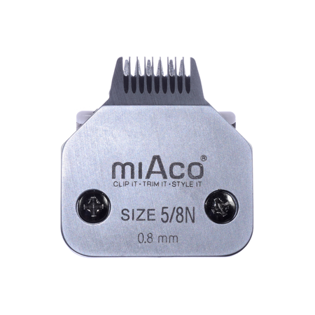 Miaco Size 5/8 Narrow Detachable Animal Clipper Blade fits Andis AG, AGC and Oster A5