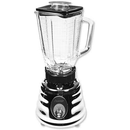 Oster 465 Blender, Retro Chrome 2 Speed, 5 Cup Glass Jar