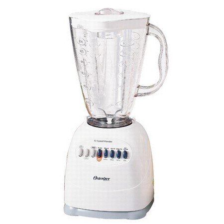 Oster 6640 Blender, 10 Speed, 6 Cup Plastic Jar