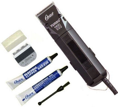Oster Turbo 111 Clipper With Size 1 Blade and Size 000 Blade