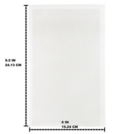 Pint Size 6x9.5 Bags. Fits Tilia Foodsaver Vacuum Sealer