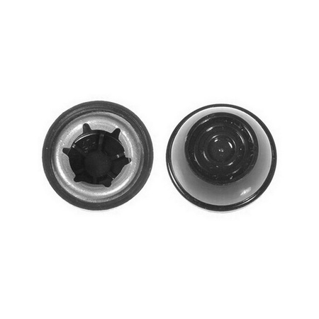 Power Wheels Two B7659-2459 Wheels and Two Push Nut Retainer Caps fits Jeep Wrangler