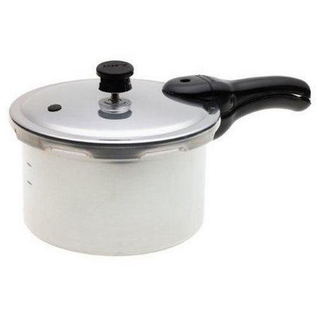Presto 01241, 4 Quart Aluminum Pressure Cooker