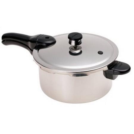Presto 01341, 4 Quart Stainless Steel Pressure Cooker