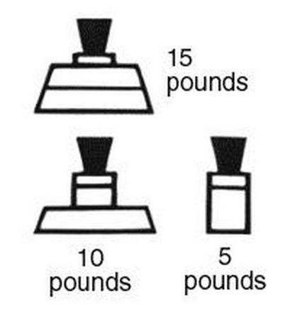 Presto 50332 Regulator Weight for Pressure Cookers