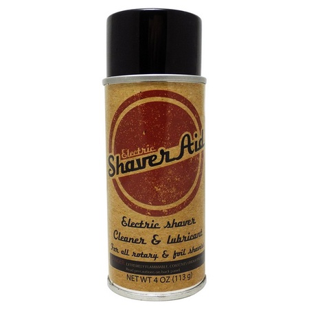 ShaverAid Electric Shaver and Razor Cleaner Lubricant Spray for Norelco, Braun, Remington, Wahl, etc.