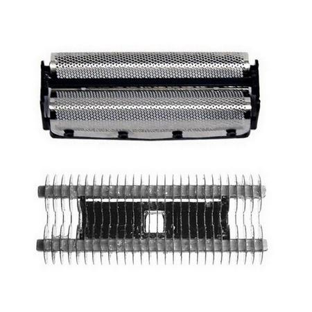 ShaverAid Screen Foil and Cutter Blade Set fits Remington SP-62 Microscreen 2 Foil Shavers