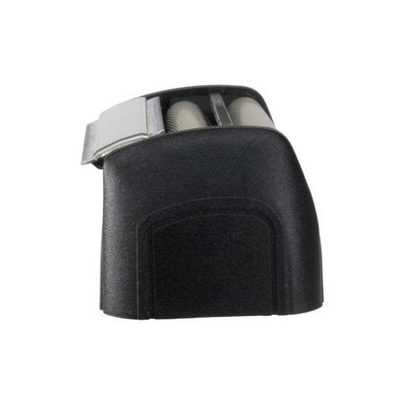 ShaverAid Shaver Head with Screen and Cap Silver fits older Remington XLR Models Black