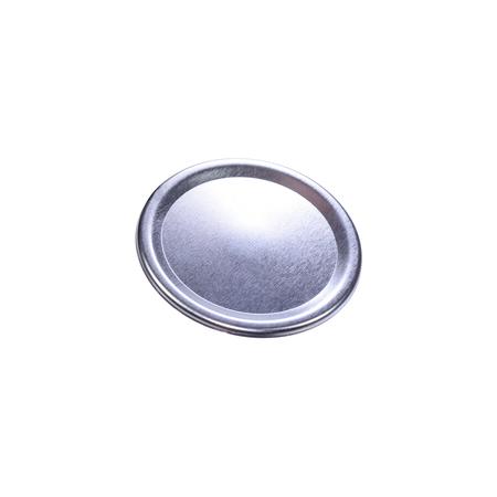 Sunshine Mason Co. Mason Jars Lids and Bands Regular Mouth Silver 12 Pieces