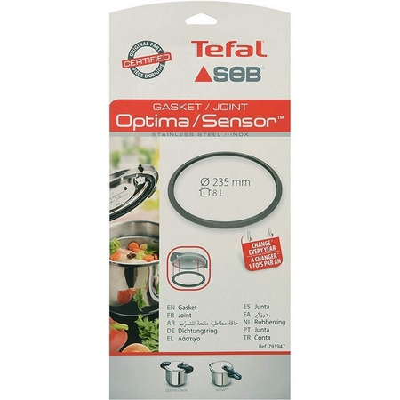 T-Fal 791947 Pressure Cooker Sealing Ring (Replaces part number SS-796786) fits Optima Classic and Sensor
