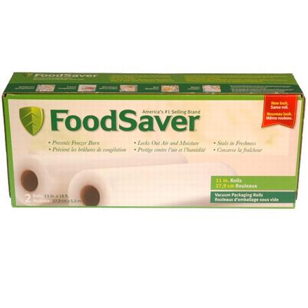 Tilia Foodsaver 11 Inch Vacuum Sealer Roll, 2 Pack