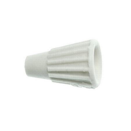 Univen Porcelain Ceramic Twist Wire Connector Medium Size 12 Pack