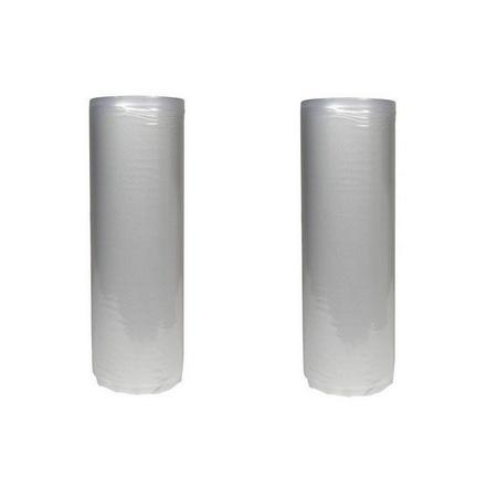 "Univen 11"" x 100' (2 x 50') Vacuum Sealer Rolls fits Tilia Foodsaver Vacuum Sealers 2 Pack"