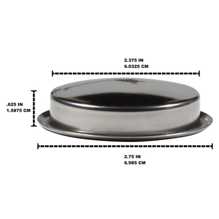 Univen 58mm Espresso Machine Backflush Insert Blank Blind Filter