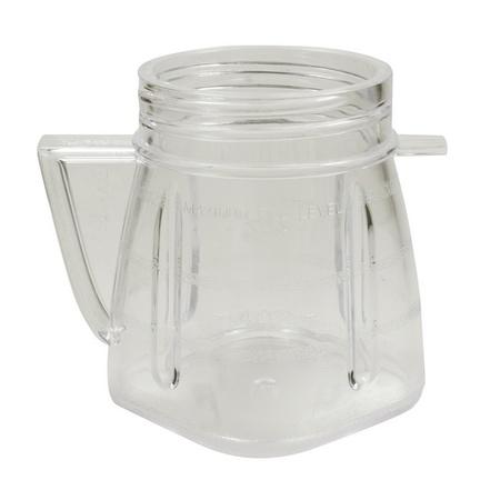 Univen 8 Oz Mini Blender Jar With Sealed Lid for Oster & Osterizer Blenders