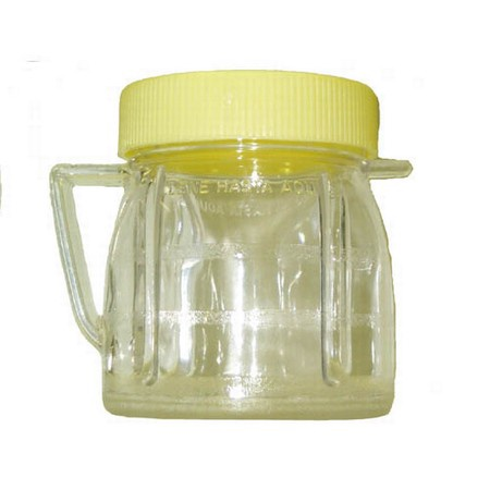 Univen 8 Oz Mini Blender Jar With Lid for Oster & Osterizer Blenders