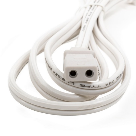 Univen Appliance Power Cord, 5/16 Spacing, Fits Mixers, Fans, Etc