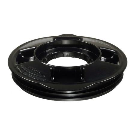 """Univen Blender Jar Lid and Cap fits Oster 124461 Round Jar with 5.125"""" Inside Diameter Black"""
