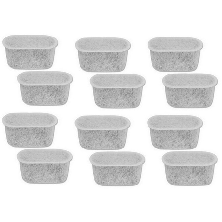 Univen Coffeemaker Charcoal Water Filters replaces Cuisinart DCC-RWF 12 Pieces