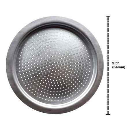 Univen Espresso Filter fits Bialetti 6 Cup Aluminum Espresso Makers 64mm