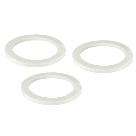Univen Gasket for Stovetop Espresso Coffee Makers 9 Cup 3 PACK fits Bialetti, Imusa, BC, etc.