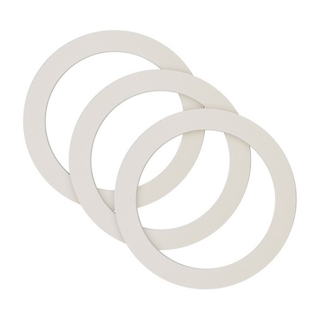 Univen Gasket for Stovetop Espresso Coffee Makers 3 Cup fits Bialetti, Imusa, BC, etc. Made in USA 3 PACK