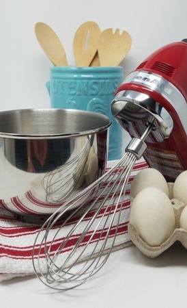 Univen Hand Mixer Stainless Steel Pro Whisk Compatible with KitchenAid KHMPW