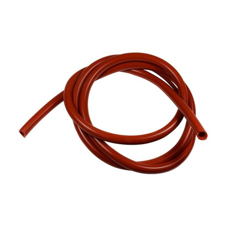 Univen High Temp FDA Food Grade Red Silicone Tubing 8mm ID X 12mm OD Five Feet (5') Length
