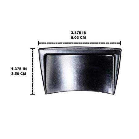 Univen Replacement Bakelite Plastic Pot Handles, Set of 2.