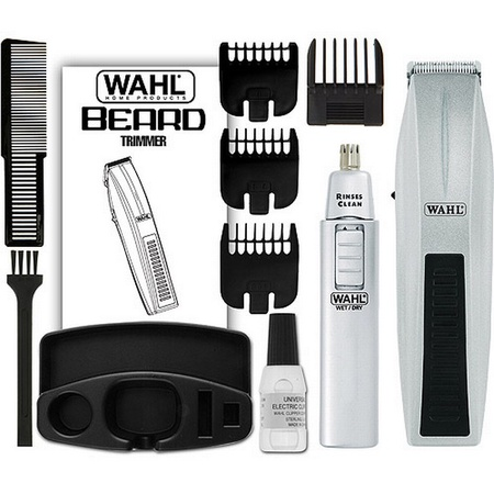 Wahl 5537-420 Mustache Beard and Nose Trimmer Kit
